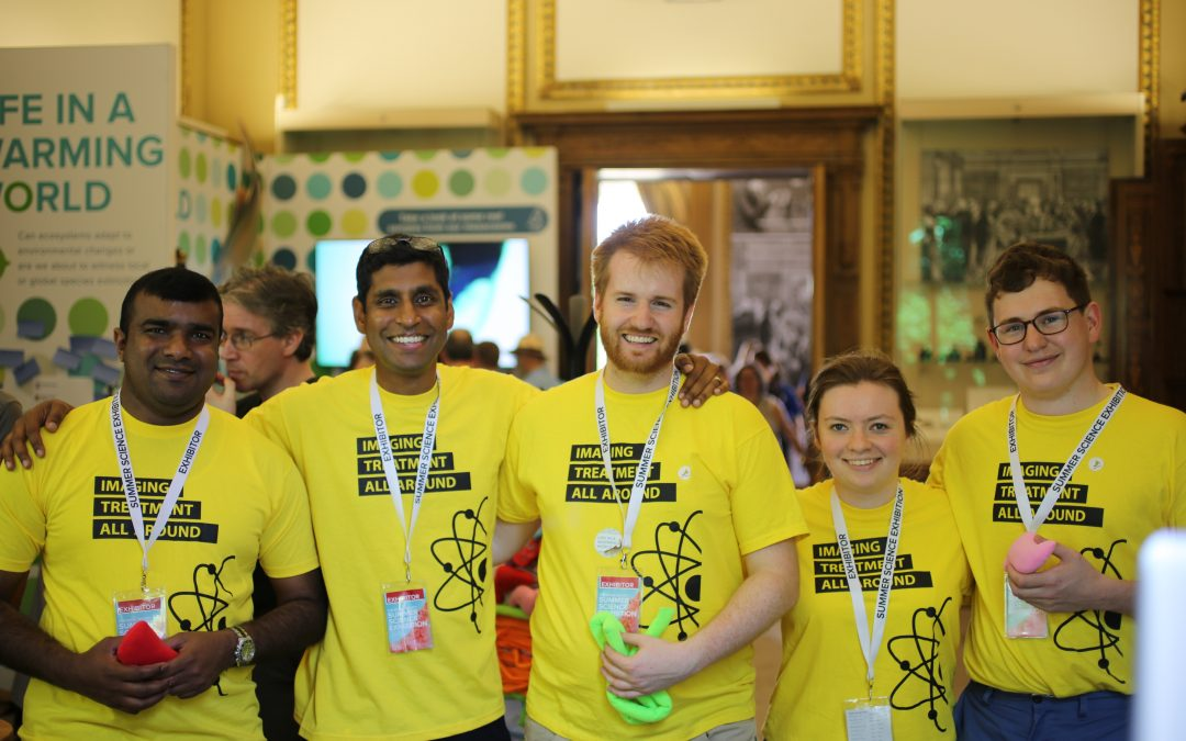 Hot Stuff at the Royal Society Summer Science Festival