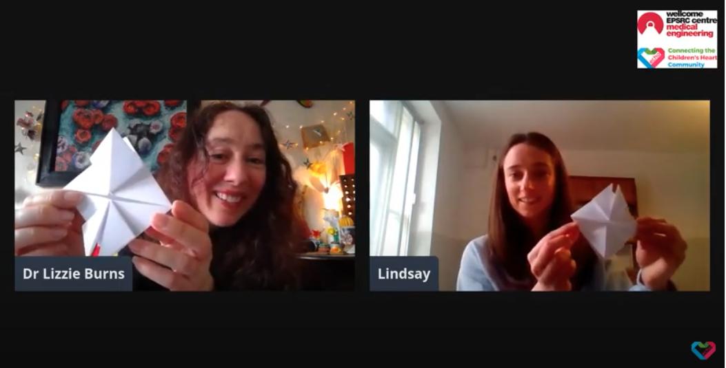 Lindsay Munroe at the ECHO Happiness Hub