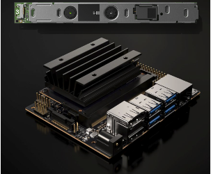The NVIDIA Nano and InteliSense camera that we will use in this project